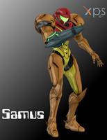 XNALara Smash Bros Wii U Samus model (DOWNLOAD)