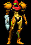 Samus Aran - Metroid Prime Comic Pose Render Pack