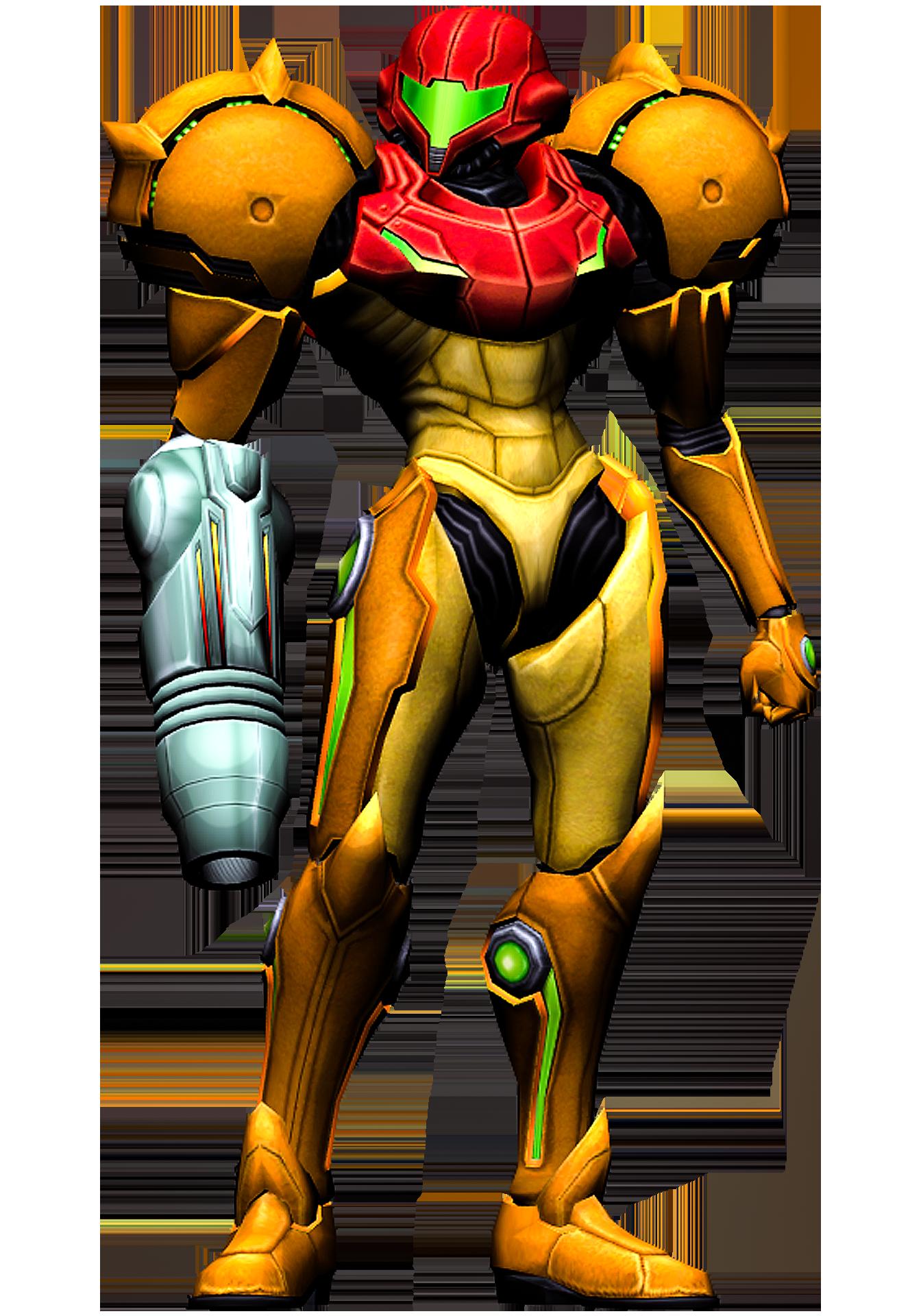 Samus Aran - Metroid Prime Comic Pose Render Pack by Varia31