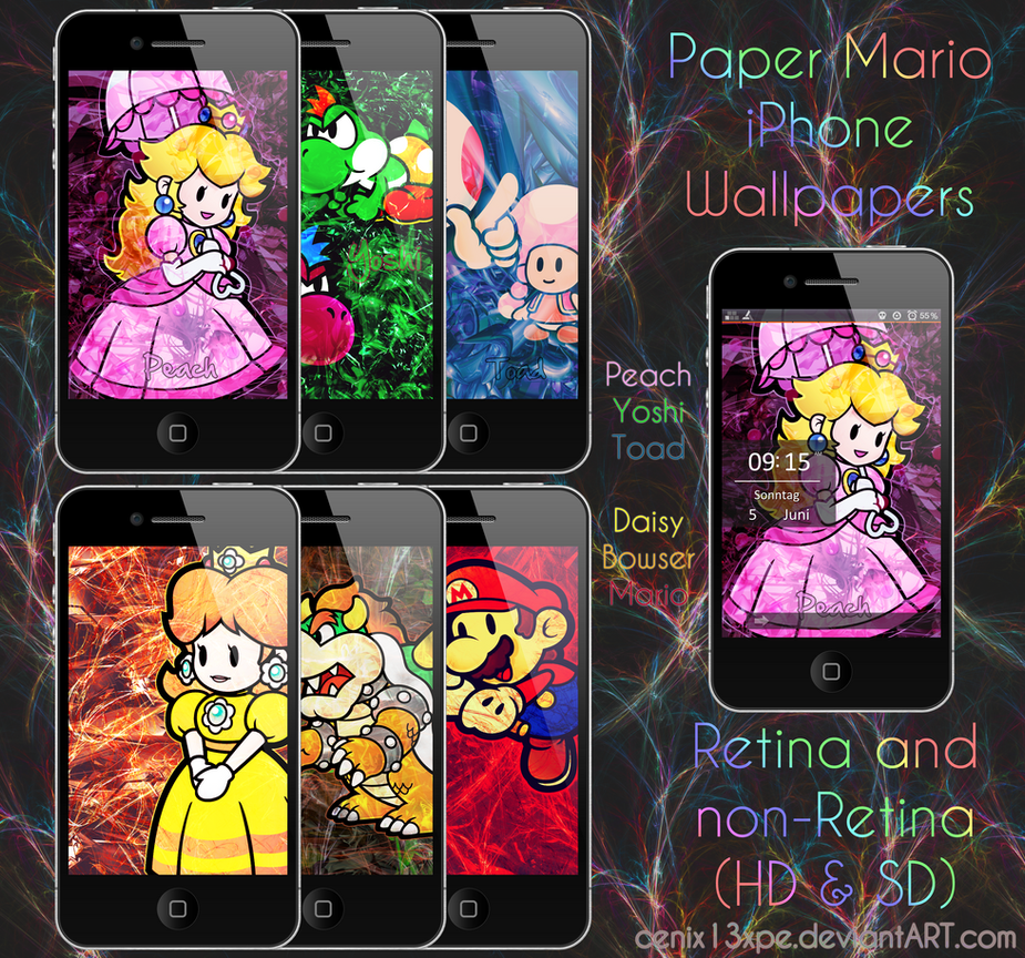 Paper Mario IPhone Wallpapers By DerNosada