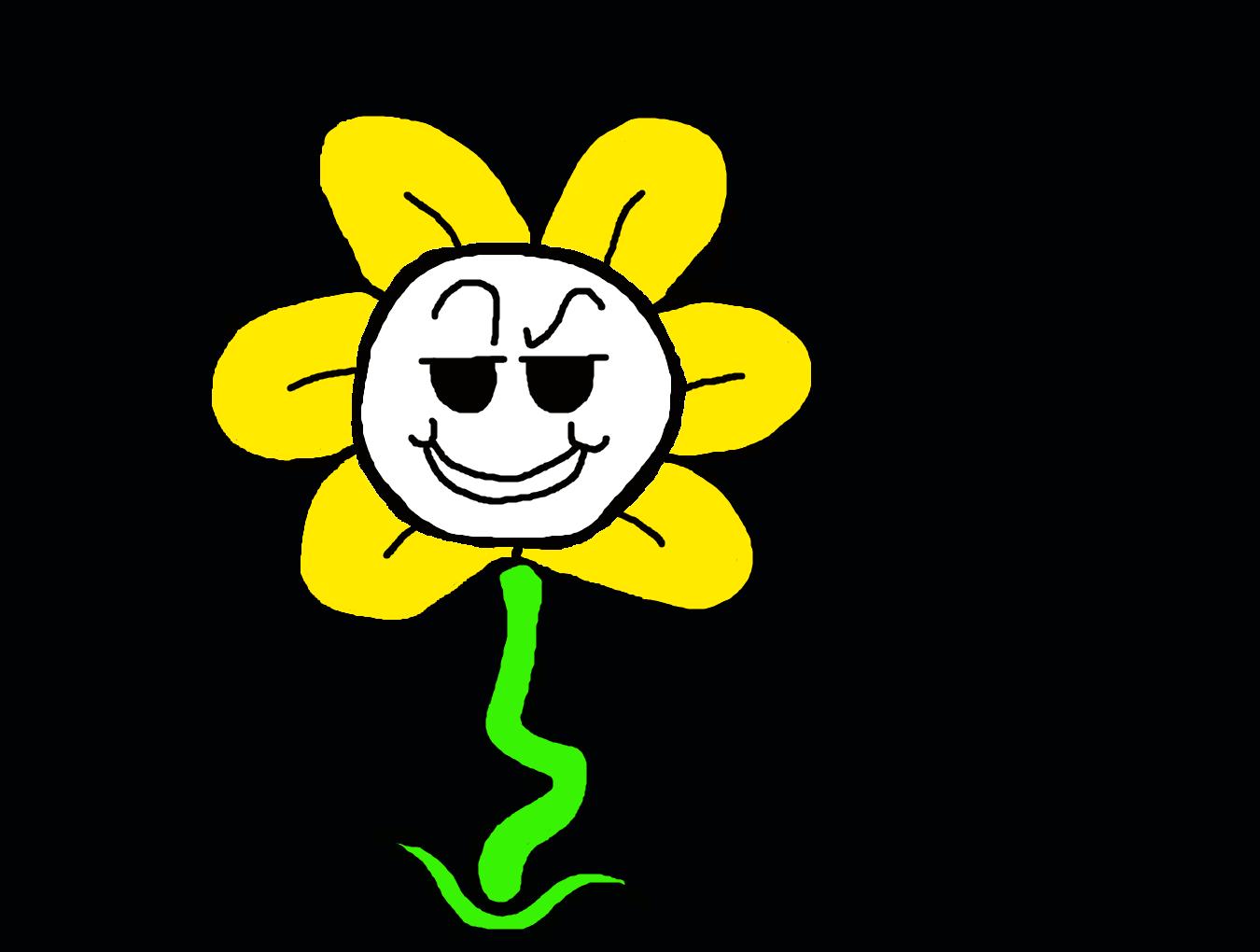 Flowey the Flower by TheDarkBrawler90 on DeviantArt