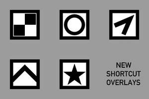 New Shortcut Overlays by invar