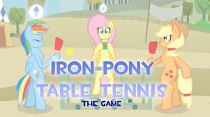 Iron Pony Table Tennis (GAME w/ Video)