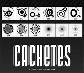 Cachetes Vector Brushes Set I
