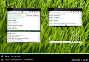 Foobar PUI for GAIA by LeCyex