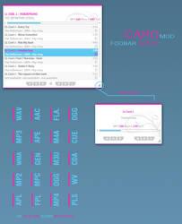 Caro Mod Foobar Config by LeCyex