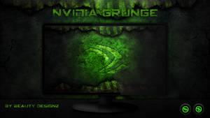 NVIDIA GRUNGE WallPaper - By BeautyDesignz by BeautyDesignz