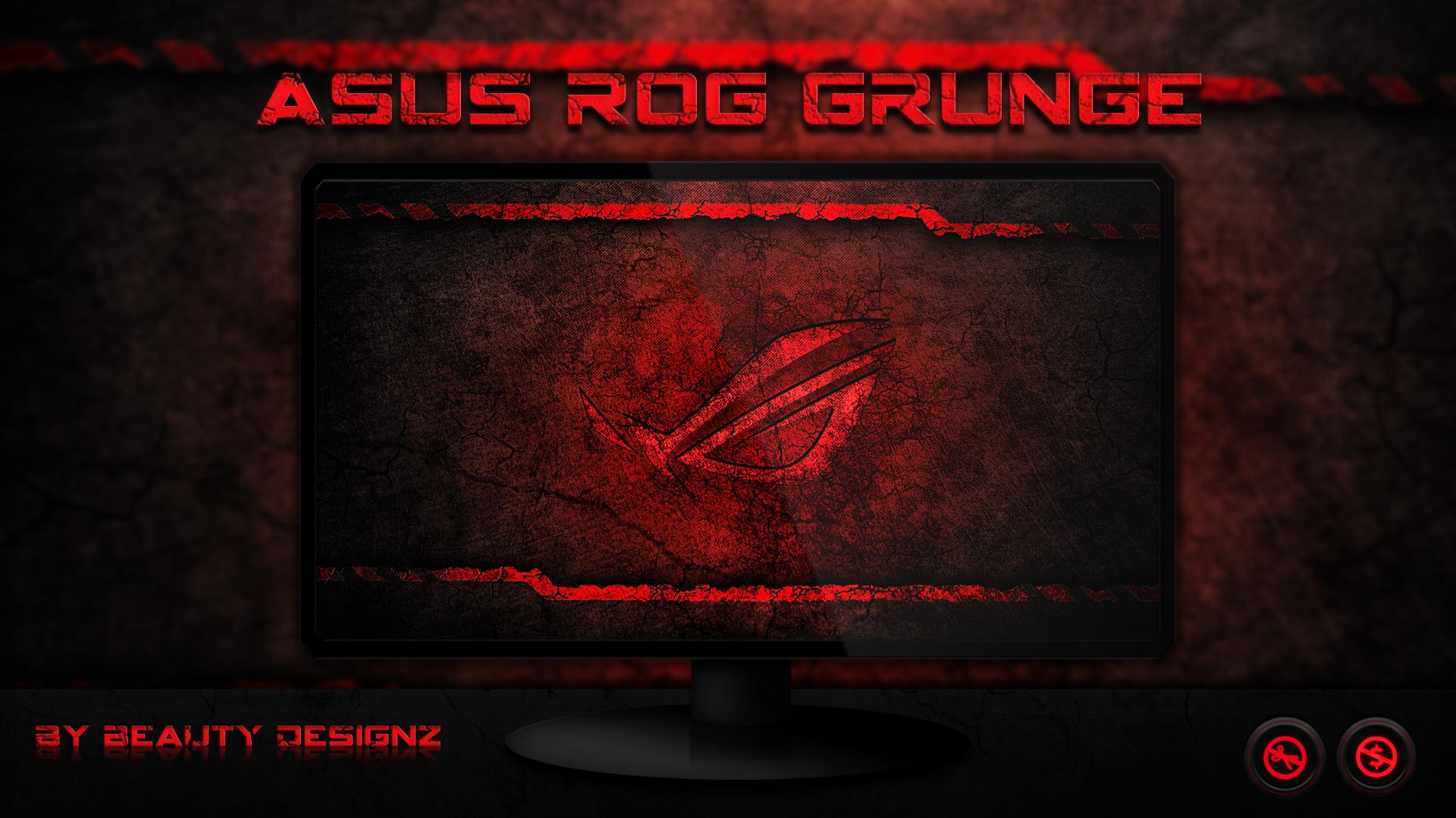 ASUS ROG Grunge Wallpaper
