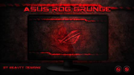 ASUS ROG Grunge Wallpaper - By Beauty Designz by BeautyDesignz