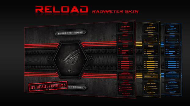 Reload Rainmeter Skin - By BeautyDesingz