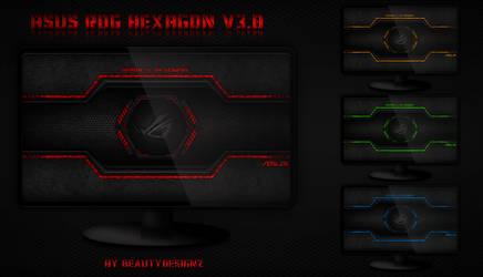 Asus ROG HEXAGON V3.0 - By BeautyDesignz by BeautyDesignz
