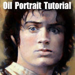 Portrait Tutorial in Oils by Cynthia-Blair