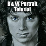 B and W Portrait tutorial by Cynthia-Blair