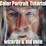 Color Portrait: Gandalf by Cynthia-Blair