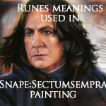 Runes used in Snape: Sectumsempra by Cynthia-Blair