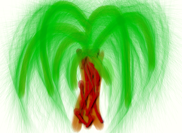 Palm tree by Treabea