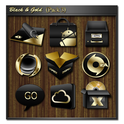 Black and Gold3 by icebabee