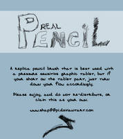 Real Pencil Brush by SHAP00PI