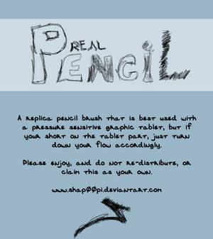 Real Pencil Brush