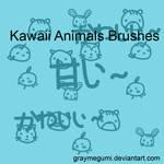 Kawaii Animals Brushes