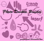 Photo Doodles Brush Set