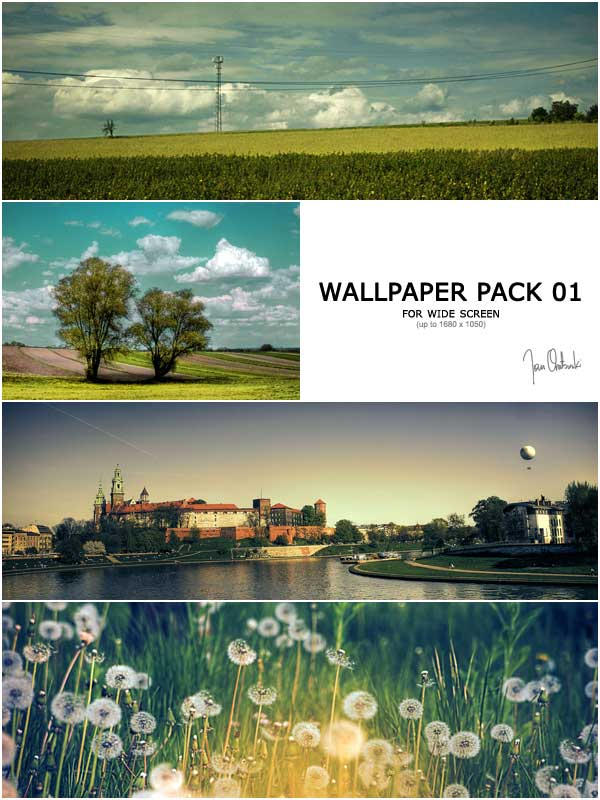 Wide Screen Wallpaper Pack 01 by kokia