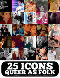 queer as folk icon pack by Sara-Devestation