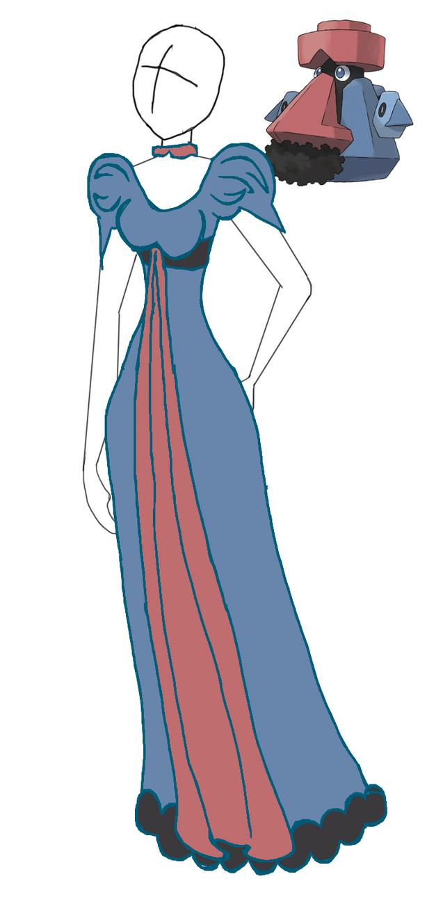 Probopass Formal Dress by xelathegreat