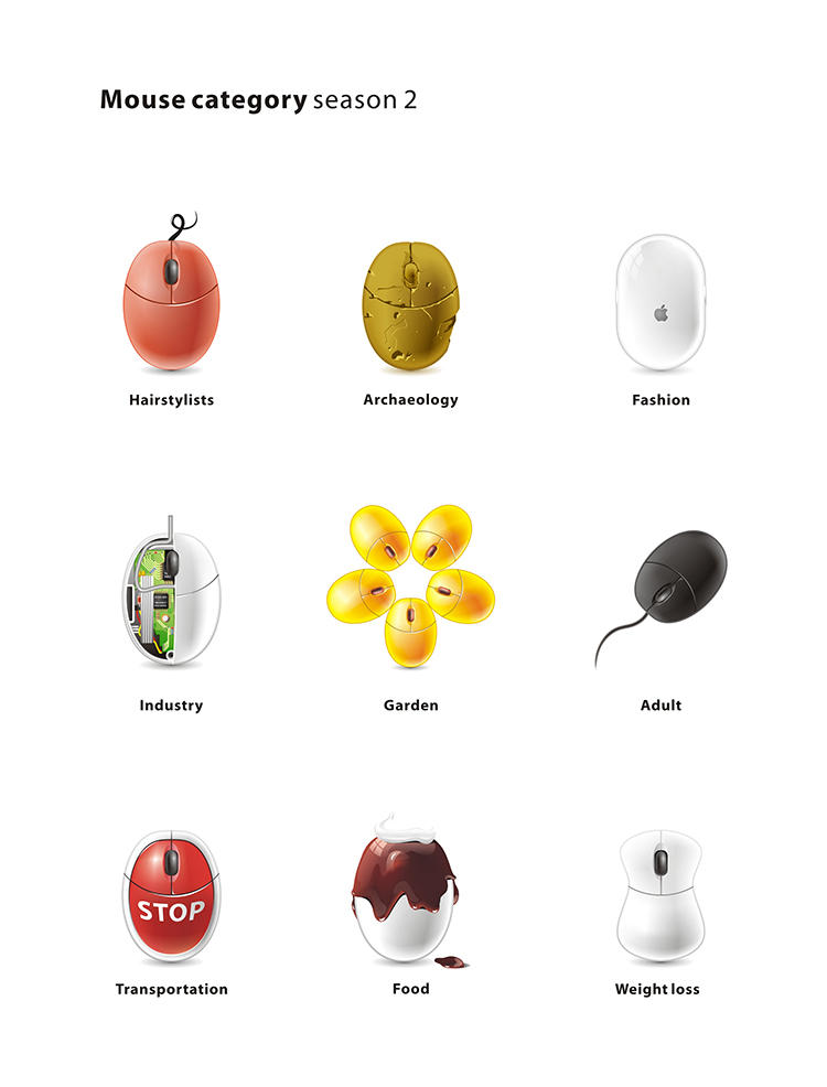 Mouse category Season 02 by denghao