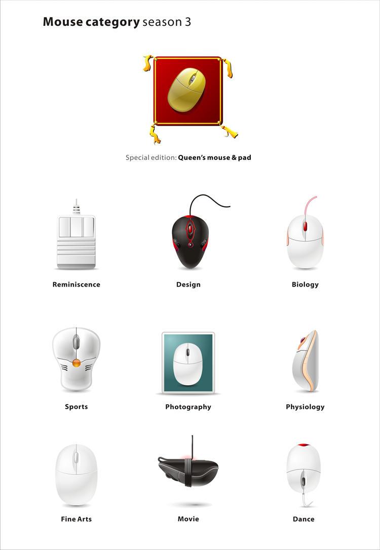 Mouse category Season 03 by denghao