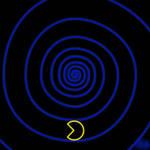 Spiral Pac-Man