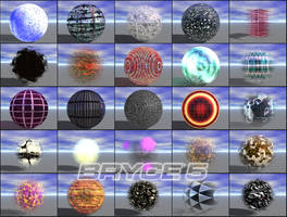 Specular Bryce Materials V.1 by flipside