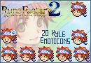 Rune Factory-Kyle Emoticons by oOLuccianaOo