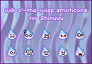 will-o'-the-wisp emoticons by oOLuccianaOo