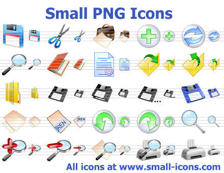 Small PNG Icons by iconbaitboat98