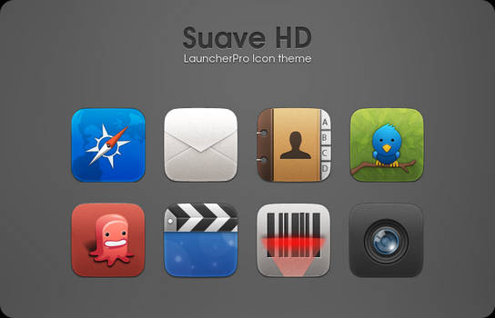 Suave HD LauncherPro theme