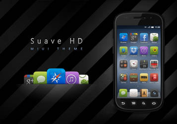 Suave HD MIUI Theme by hundone