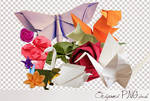 Origami PNG pack