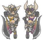 Nergigante armor Gif X2