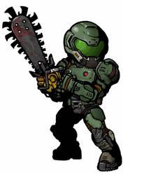 Doom Slayer GIF (Ver Darkest Dungeon)