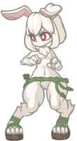 MonsterGirl_011 WereRabbit by MuHut