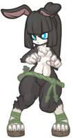 MonsterGirl_011_2 WereRabbit by MuHut