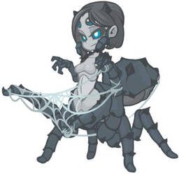 MonsterGirl_013 Cobweb Arachne(Edited) by MuHut