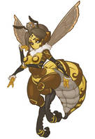 MonsterGirl_015 Queenbee (Mini BOSS) by MuHut