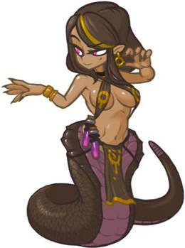 MonsterGirl_021 Lamia poisoner