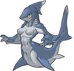 MonsterGirl_047 Sharkgirl