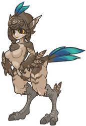 MonsterGirl_054 DesertRunner by MuHut