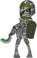 MonsterGirl_055_1 Mummy  Warrior by MuHut