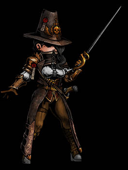 Female Witchhunter GIF 2
