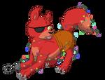 Gif - Christmas Foxy